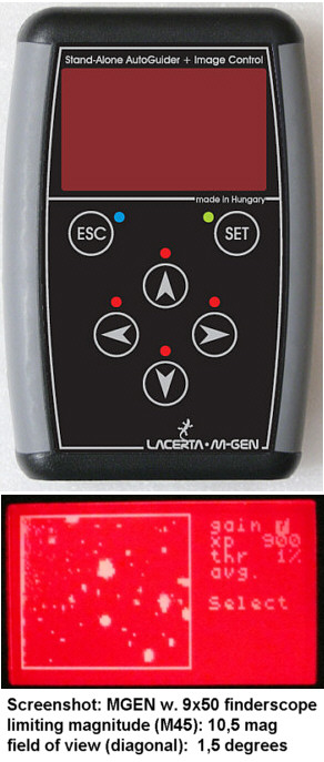 Mgen Lacerta Mgen Ii Superguider Autoguider With Remote And